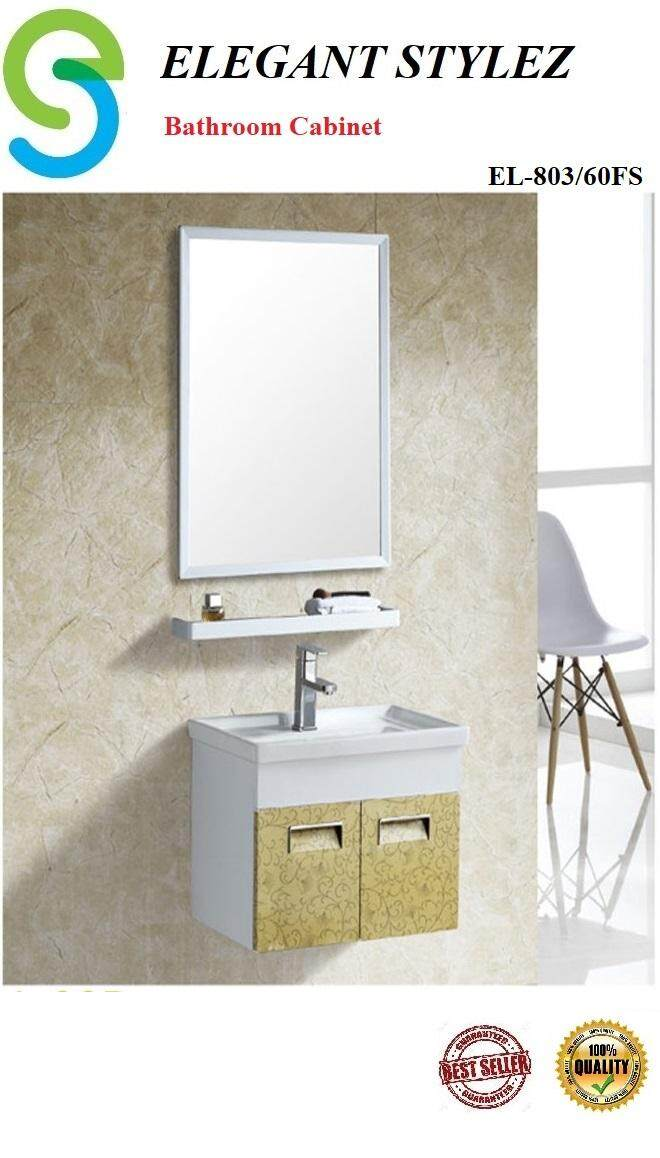 ELEGANT STYLEZ BATHROOM BASIN CABINET COMPLETE SET PACKAGE EL-803/60FS