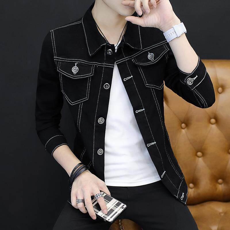 JYS Fashion Korean Style Men Denim Jacket Collection 356G - YH038