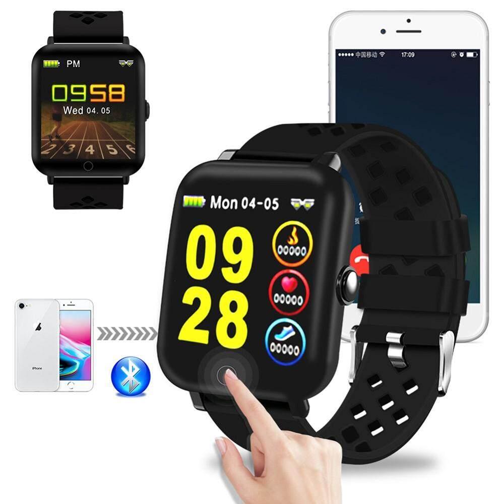 Detail Gambar DM06 Smartwatch Jantung Pemantau Tingkat Pedometer Gelang Pemantauan Tidur Band Bluetooth Kebugaran Kedap Air