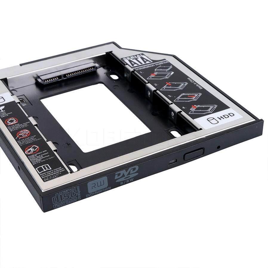 Aluminum SATA 3.0 2nd HDD Caddy 9.5mm SSD Case HDD Enclosure