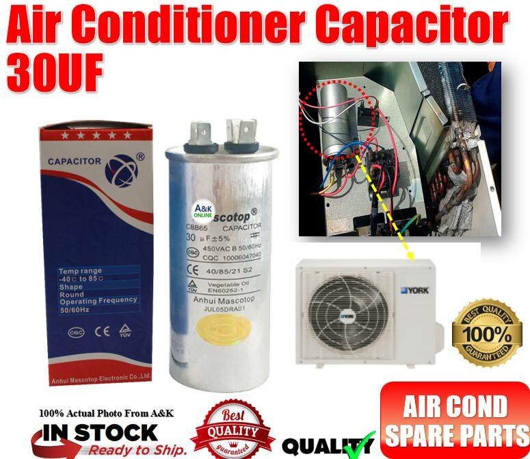 Thailand Product Air Conditioner 30UF Capacitor for Samsung Daikin Sharp