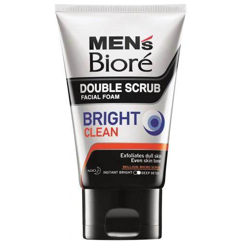 Biore Men Double Scrub Bright Clean 100g