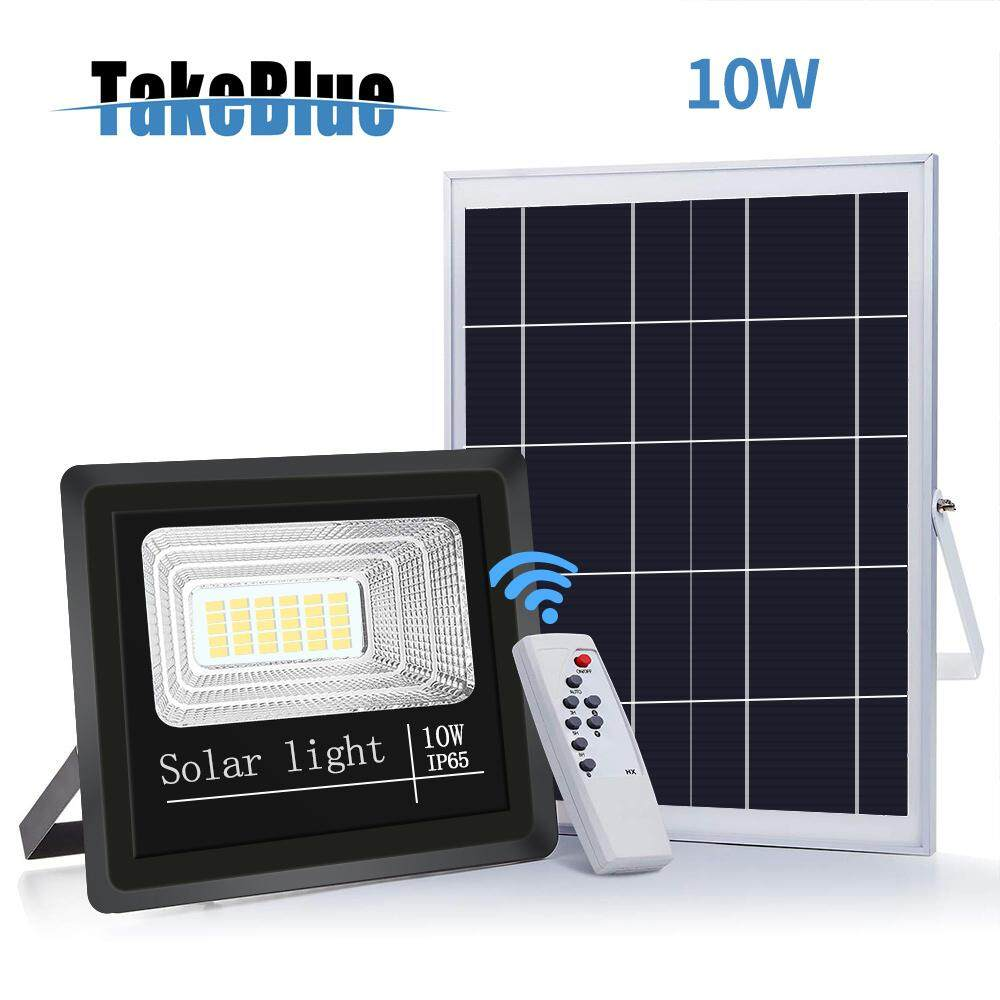 Takeblue Solar Led Flood Light 10w