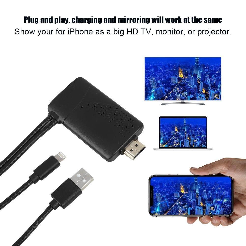 Cables - Lightning to HDMI TV AV 1080P Mobile Phone AV Cable Adapter