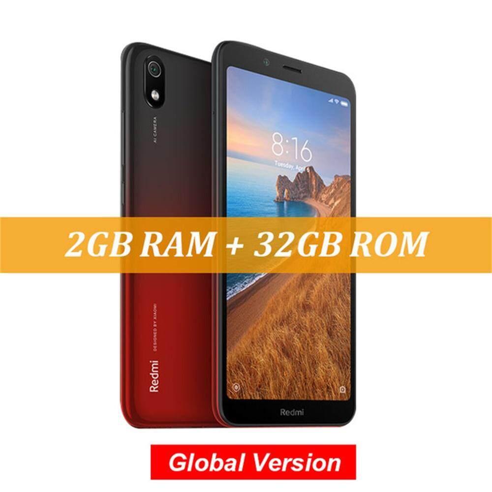 สอนใช้งาน  ตราด Global Version Xiaomi Redmi 7A 2GB 32GB 5.45 นิ้ว Snapdragon 439 OCTA Core โทรศัพท์มือถือ 12MP กล้อง 4000mAh สมาร์ทโฟน-EU Plug
