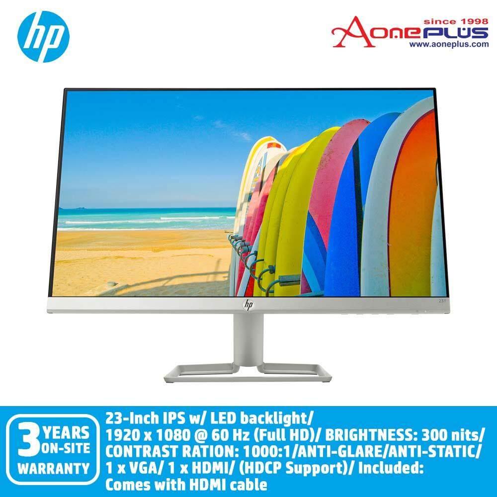 HP 23f 23-inch IPS LED Backlit Monitor