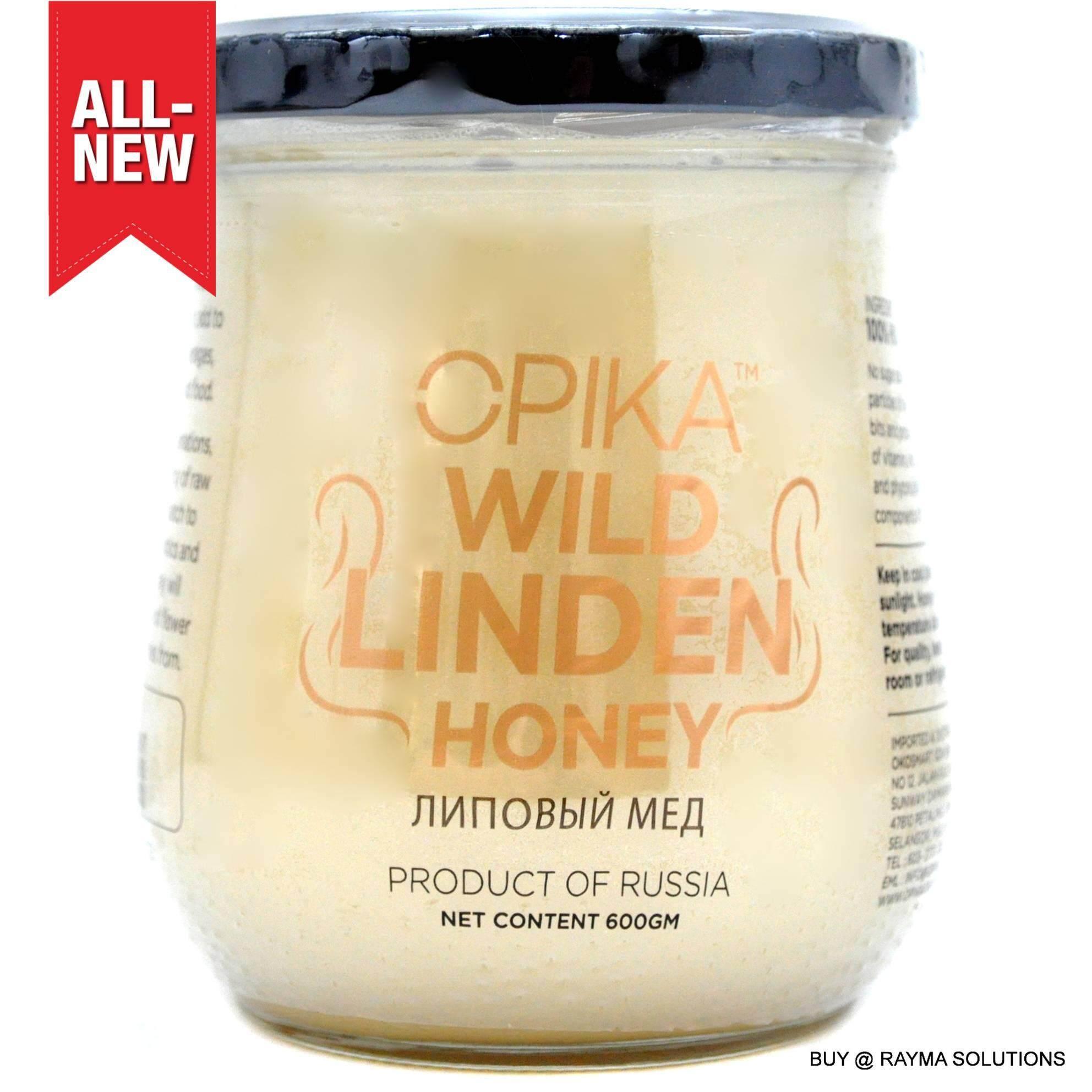 OPIKA Wild Linden Russian Honey, 600g