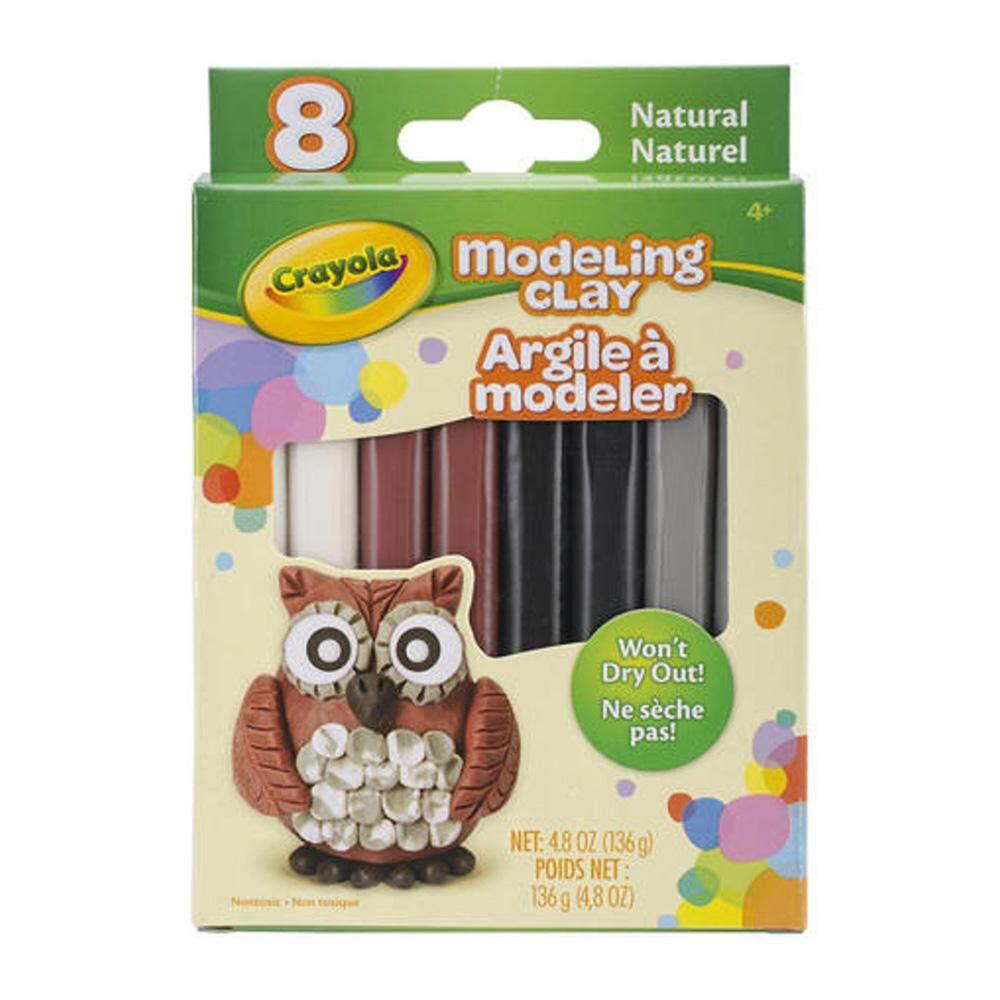 Crayola 8 Natural Color Modelling Clay - 570314
