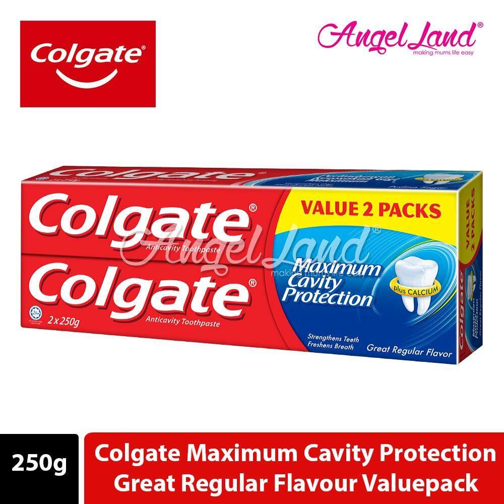 Colgate Maximum Cavity Protection Great Regular Flavour Toothpaste Valuepack 250g x 2
