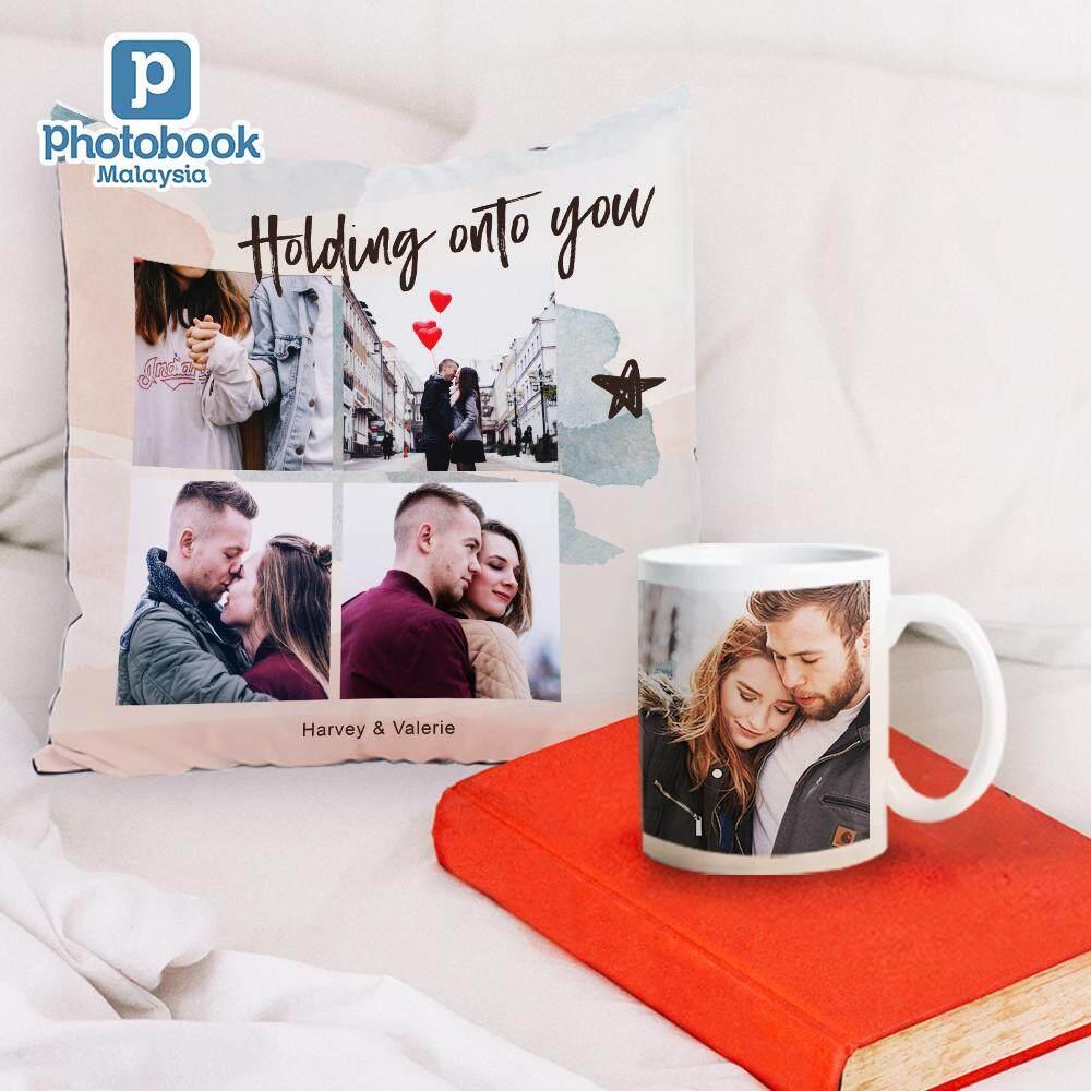 (Bundle) Photo Pillow + 11oz Photo Mug