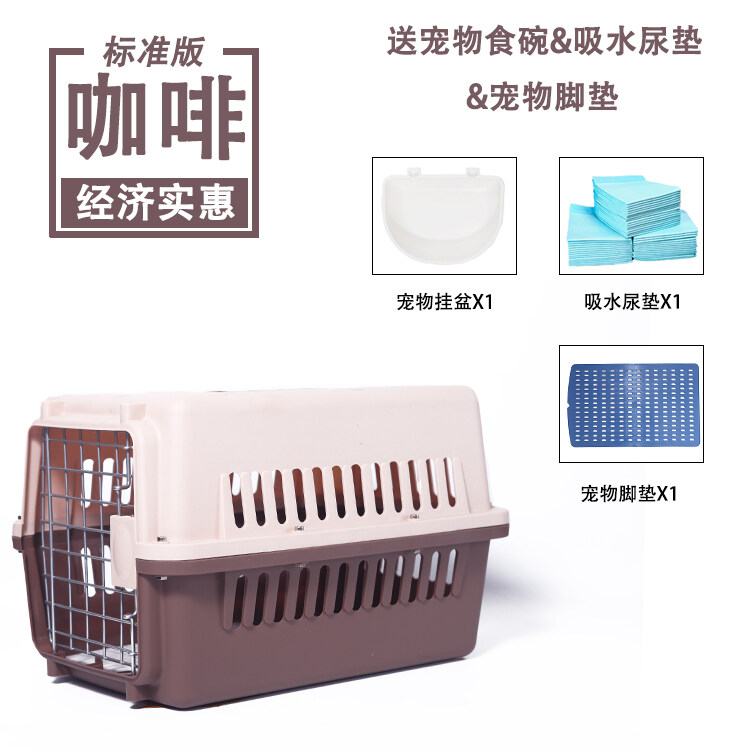 Harga Promo Kandang Anjing Peliharaan dan Kotak Penerbangan Umum untuk Anjing Besar J Golden Retriever Samoyeds Lipat Baja Tahan Karat dengan Toilet Terbaik