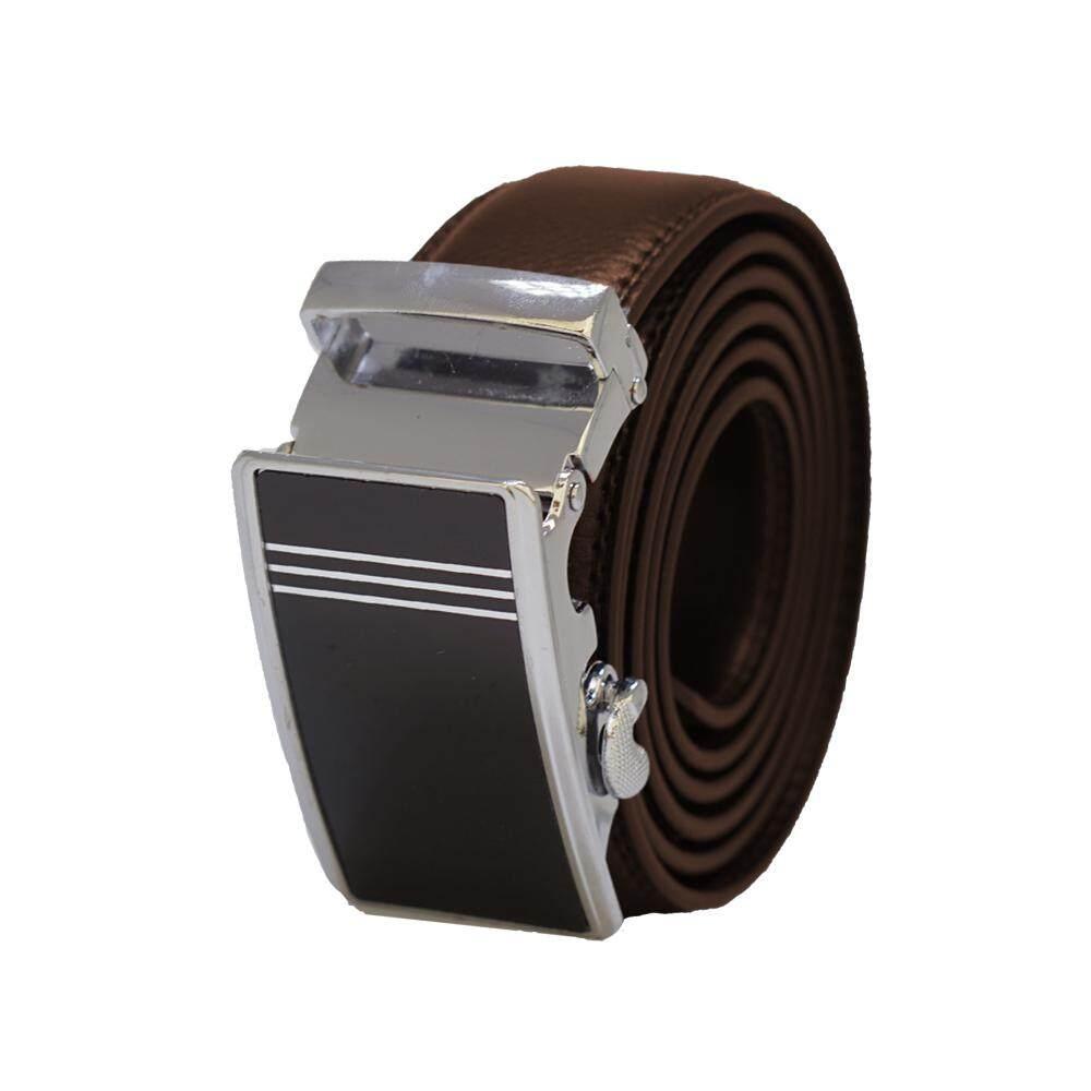 Original A61 Men Automatic Buckle Quality Leather Men Belt [Ready Stock] - Adjustable Strap for Size M , L