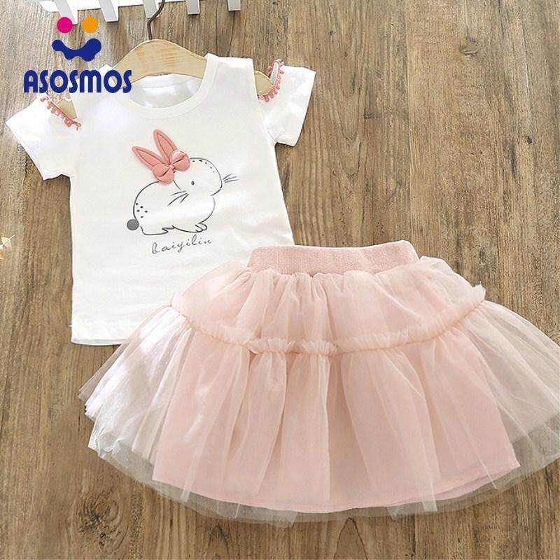 53ceecc00524 Product details of ASM Kid Baby Girls T-shirt+Tutu Skirt Set Outfit Clothes Easter  Bunny Tops Kit