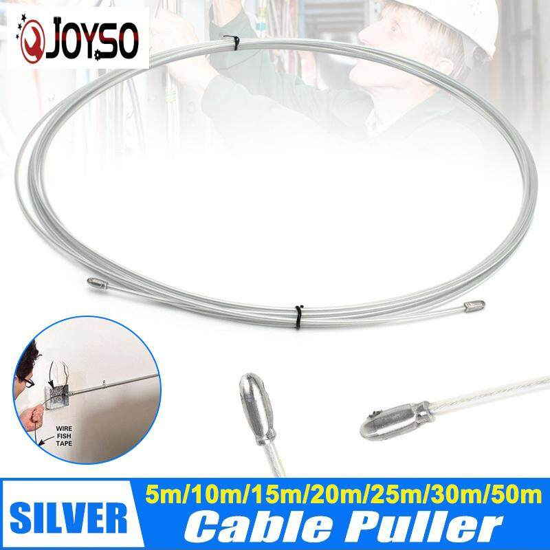 4mm 10m//20m//30m//50m//100m Fish Tape Fiberglass Wire Cable Duct Puller Tool