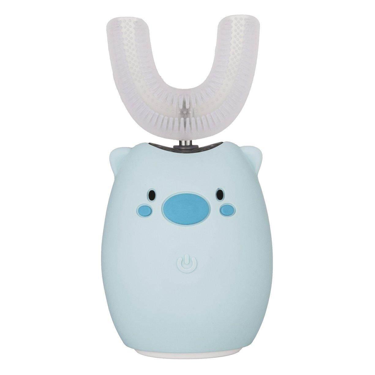 แปรงสีฟันไฟฟ้าเพื่อรอยยิ้มขาวสดใส นนทบุรี ที่ดีที่สุดขายเด็ก U Type Electric TOOT Hbrush เกี่ยวกับระบบเสียงที่สามารถชาร์จไฟได้อัตโนมัติ TOOT Hbrush