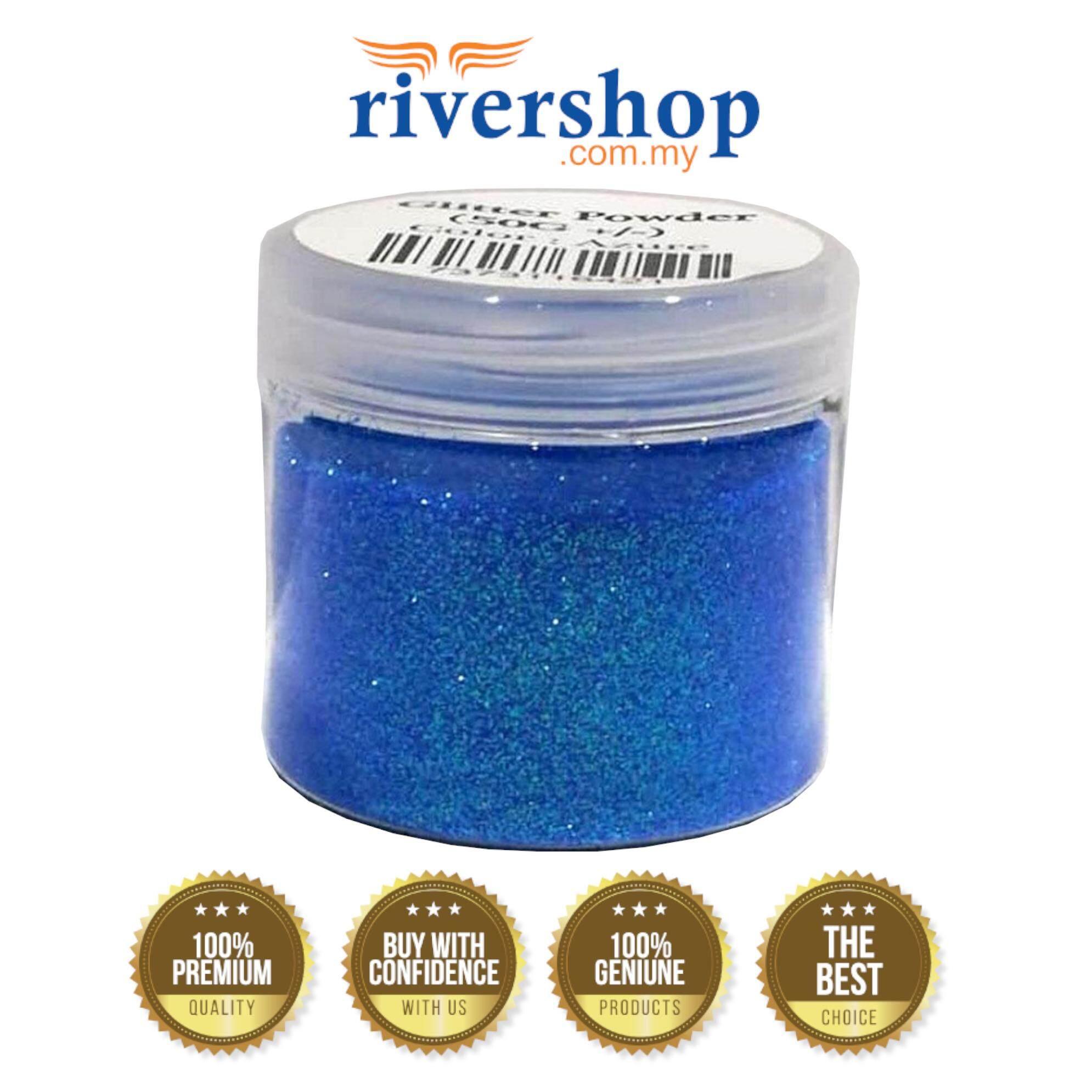 Glitter Powder 50g+/- (Azure)