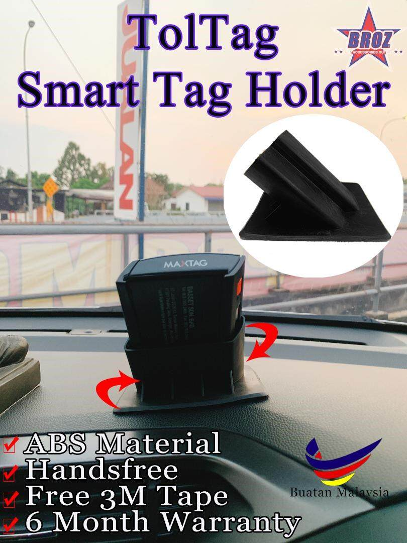 TolTag Smart Tag Dashboard Holder With Stick Gel Pad