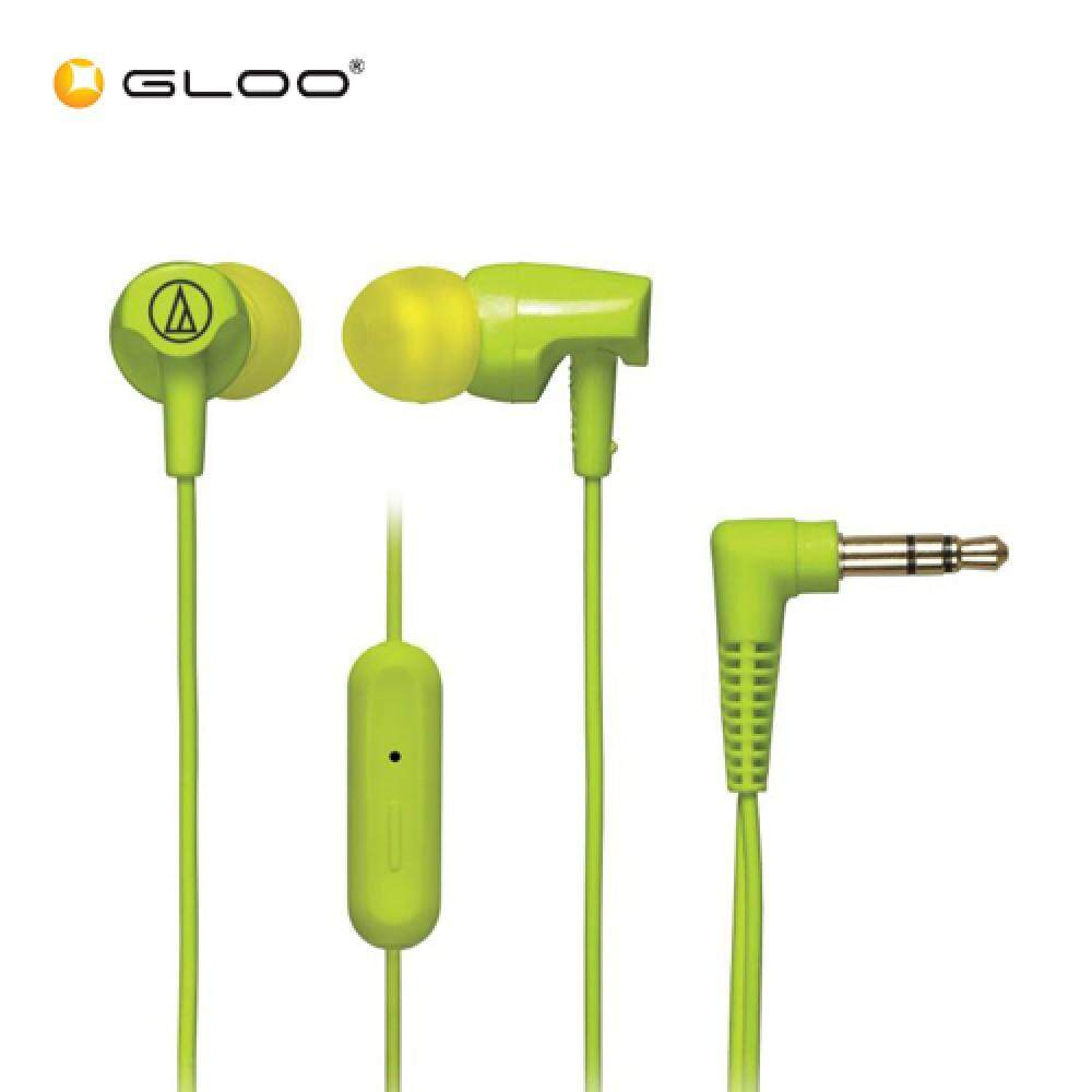 Audio Technica Headset - ATH-CLR100iS (Blue/Light Green)