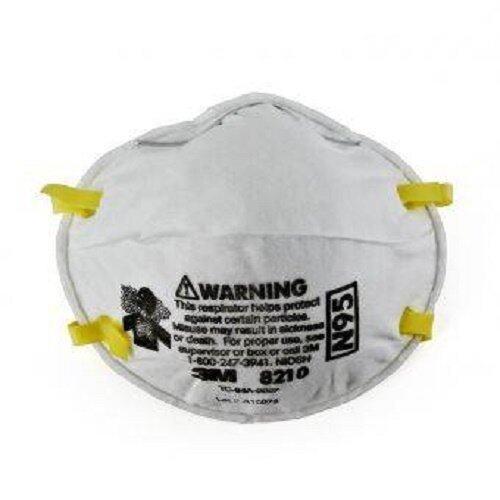 20 Pcs 3M N95 8210 Anti Haze Disposable Face Masks 20s/box