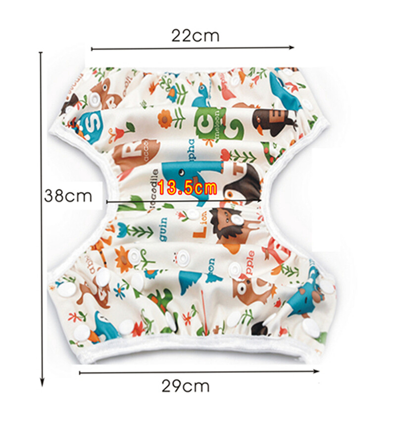 10 Pieces of One Size Nappy Cover