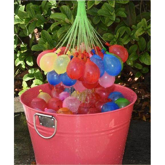 100pcs Magic Water Balloons (with connector)