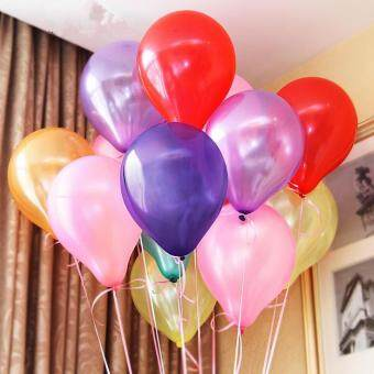 10inch 1.2g 100pcs/lot Metallic Latex Helium Inflatable ThickeningPearl Balloons Wedding Decorations ballon Ball