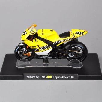 1/18 Model YZR-M1 #46 Seca 2005 Motorcycle Toy