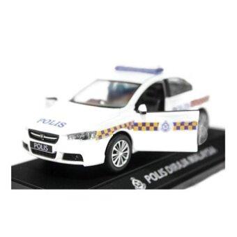 Skala 1:32 Proton Inspira Polis Polisi Diraja Malaysia PDRM 189 Diecast Biru (Putih)-Internasional