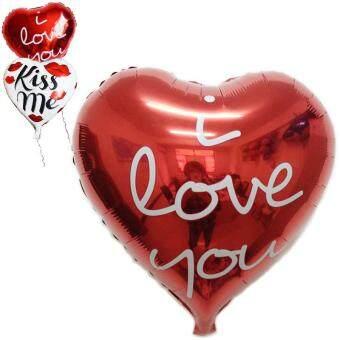 18'' Heart Love Foil Helium Balloon Birthday Party Wedding Decoration I Love ...