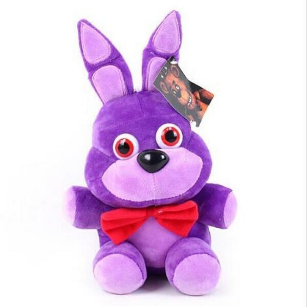 ... 1pcs 25CM Five Nights At Freddy s 4 Kawaii Fnaf World Freddy Fazbear  Bear Foxy Bonnie Chica ... cbb8dc216b
