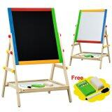 (RAYA 2019) 2-In-1 Easel Wooden White and Black Board Series 75 for Kid