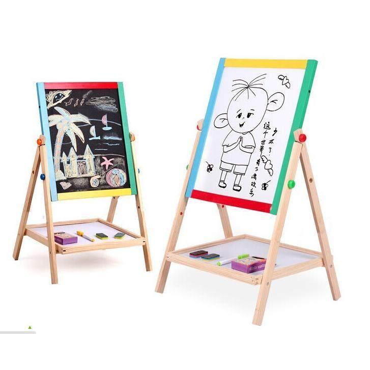 2in1 Wooden Blackboard/ Whiteboard