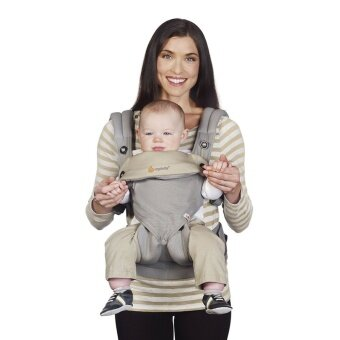 Harga 360 Baby Carrier Manufacturers Ergo-baby Back with Four Style Baby Sling Cotton Multifunction Baby Carrier Air Section(Grey)