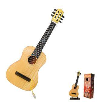 360DSC 17 Inch 6 String Mini Wooden Guitar Kids Musical Instruments Educational Toy - Type-1