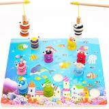 3D Magnetic Wooden Fishing Game