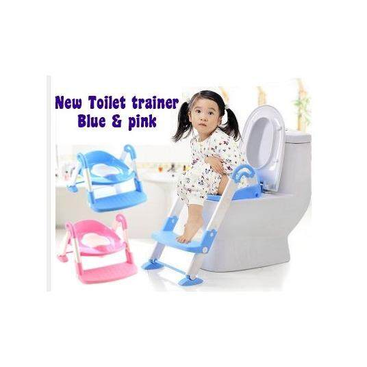 3in1 Kids Toilet Ladder Toddler Baby Training Toilet Potty Seat Non Slip Trainer