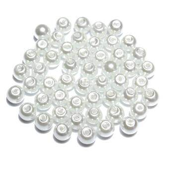 Harga 4mm/6mm/8mm Glass Pearl Round Spacer Loose Beads DIY Jewelry MakingWholesale
