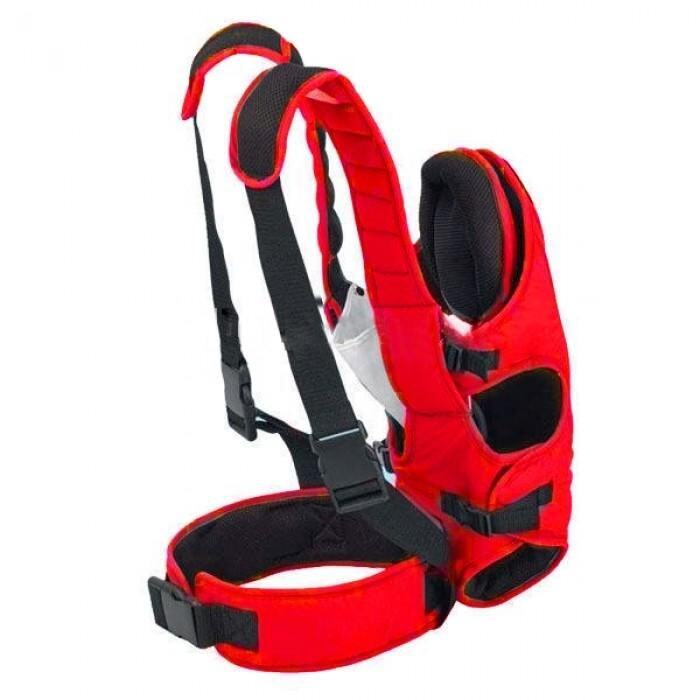 5 Position Safety Baby Carrier Red
