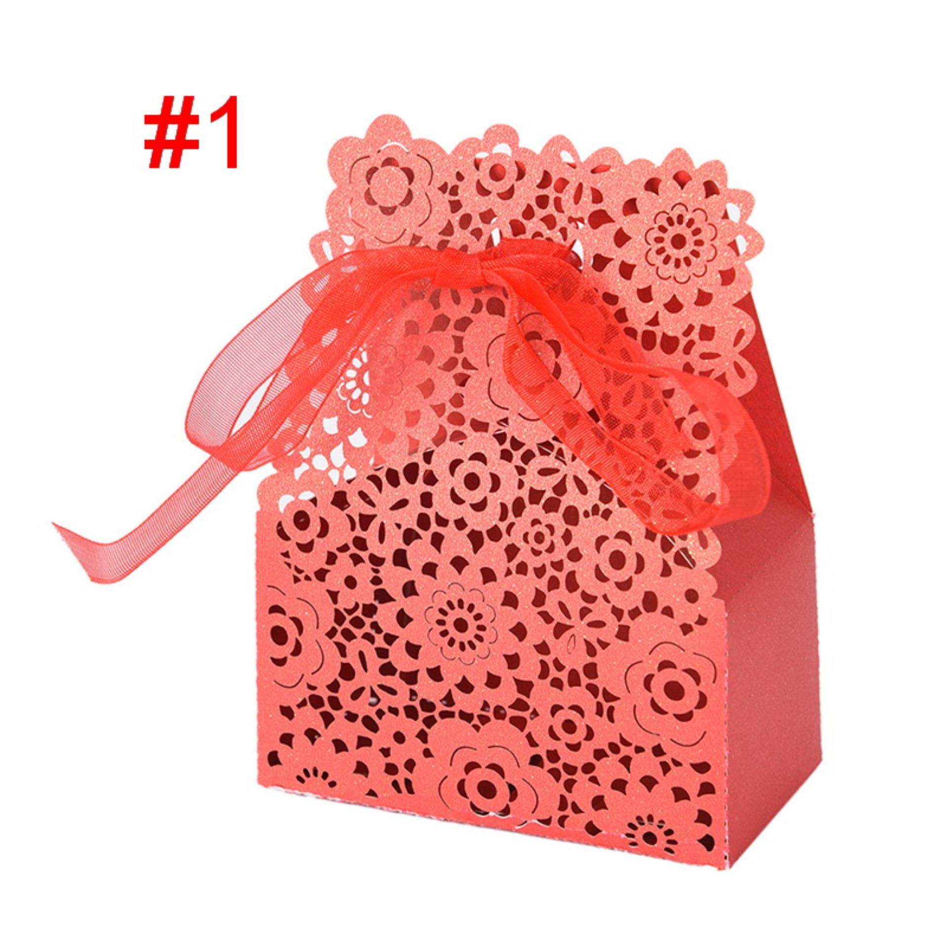 50pcs Lot Butterfly Candy Box Wedding Favors Gifts Box For ...