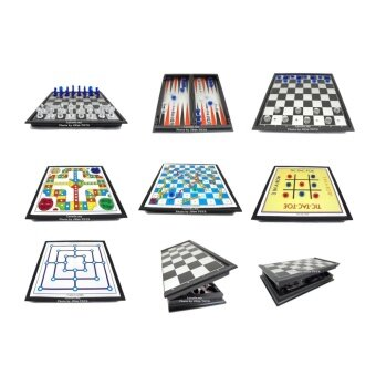 Harga 7 in 1 Family Game - Chess, Snakes Game ......... ( Folding Board )