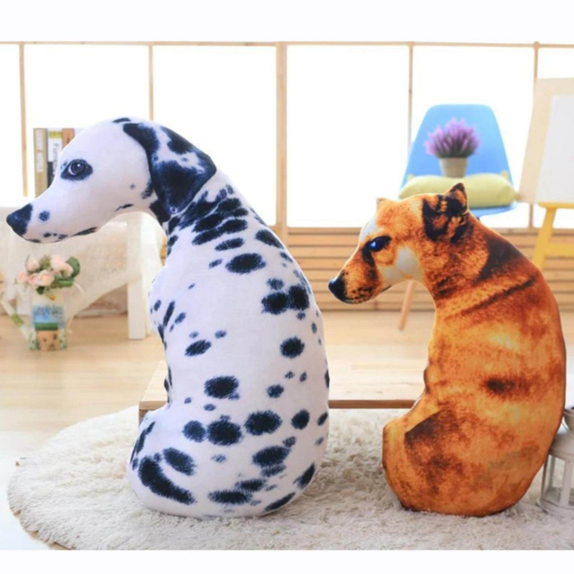 Features 90cm Stuffed Animal 3d Dog Pillow Plush Doll Toy Birthday