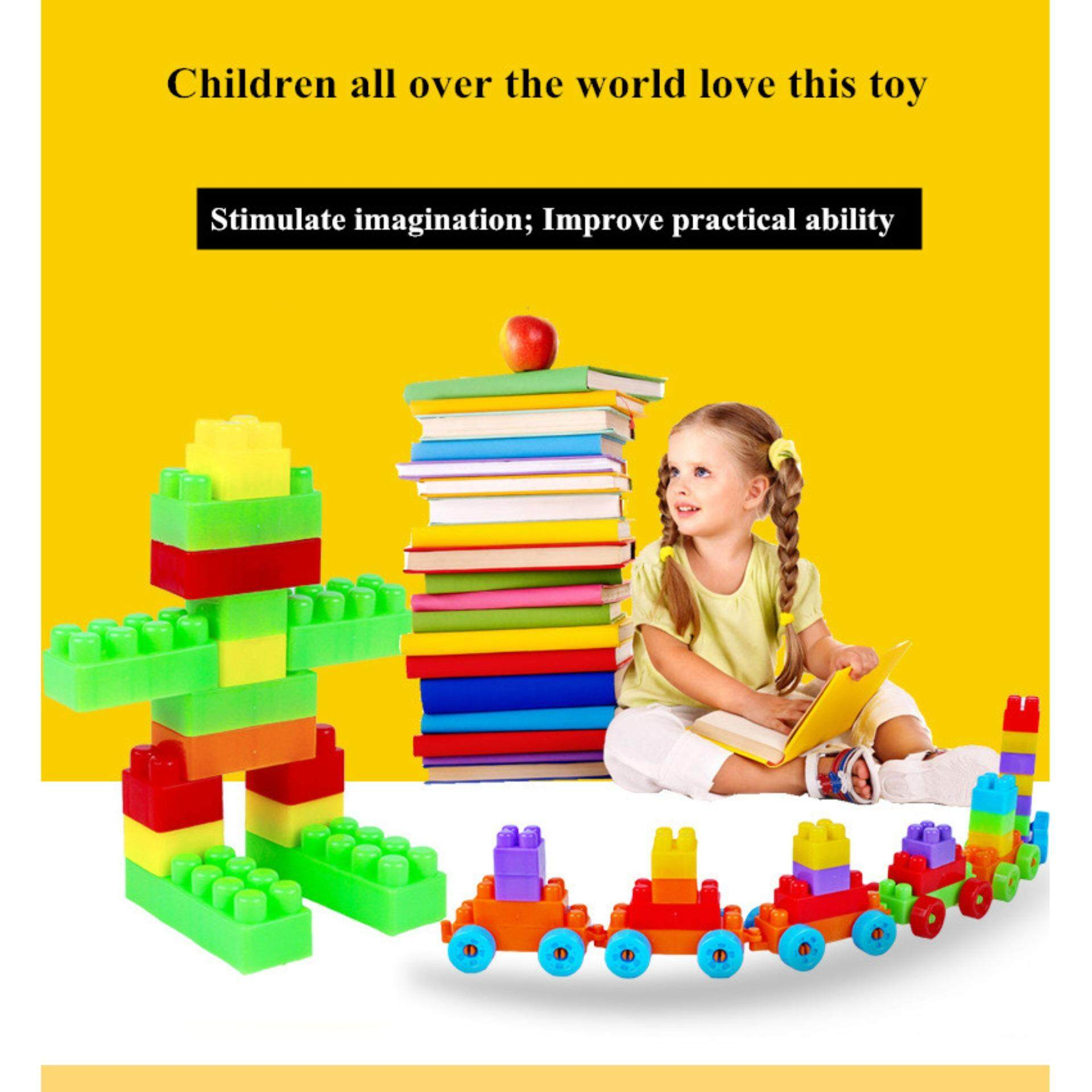 90pcs DIY Building Block Brick Educational Learning Toys For Kids