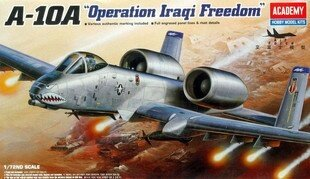Advantest America a-10a assembled airplane model