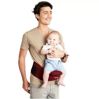 AIEBAO Baby Carrier Waist Belt Hipseat Red - 5