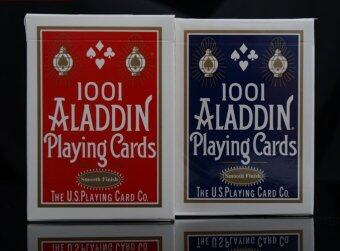 Harga Aladdin Poker Playing Card Games (blue)
