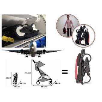 Aldo Compatto Stroller - Red - 2
