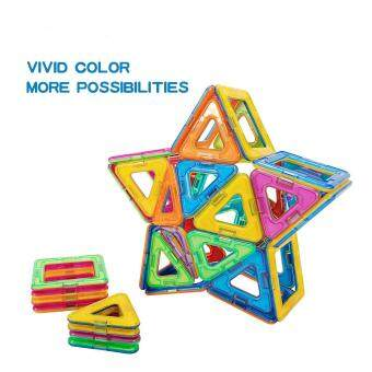 Allwin 40-Pcs Magnetic Blocks Set Kids Magnetic Toys ConstructionBuilding Tiles Blocks for Creativity Educational - 5