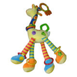 Review Allwin Bayi Perkembangan Bayi Lembut Jerapah Hewan Handbells Pegangan Mainan