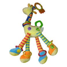 Spesifikasi Allwin Bayi Perkembangan Bayi Lembut Jerapah Hewan Handbells Pegangan Mainan Terbaru