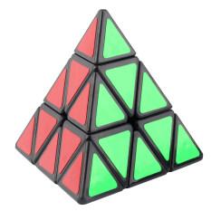 Review Terbaik Allwin Moyu Piraminx Berbentuk Piramida Segitiga Kecepatan Magic Puzzle Cube Hitam Putih